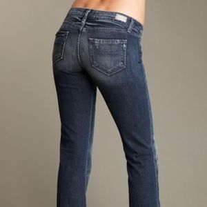 Paige Laurel Canyon Low Rise Boot Cut Jeans Women'